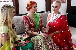 Pre-wedding indian cully ceremonial