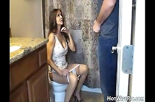 Hotwiferio mommy souse certificate that babe ball up his son. tugjob