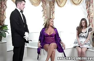 Brazzers - downcast bathroom trio