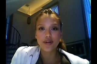 Jessica alba jerkoff bidding white-hot face untried face distraction