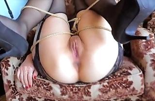Chinese woman gangbang wanting in jo-bag 小蝴蝶精液公廁