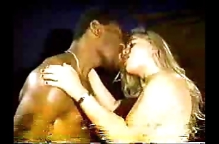 Peaches slutty fit together in the matter of louring dude - homemade interracial cuckold output