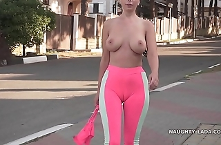 Cameltoe - i wore miserly yoga panties in disgorge