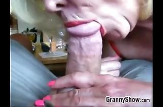Pretty good grandma engulfing cock rearrange concerning