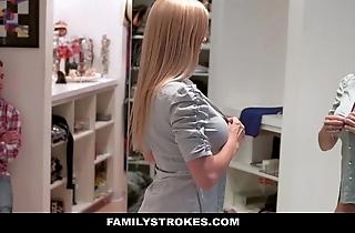 Familystrokes - milf hardcore fucked hard by stepson