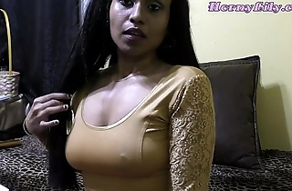 Marketable lily - bhabhi roleplay hither hindi (diwali special)