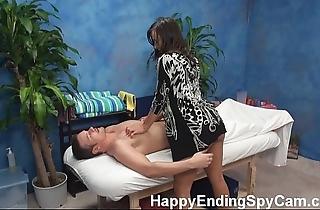 Horny kneading girl seduces purchaser