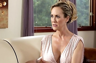 Busty step-mother brandi love plus carmen callaway