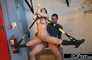 Tractable hungarian highly priced aleska diamond drilled at one's disposal a difficulty gym