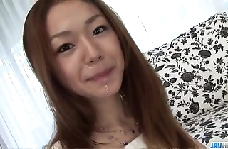 Serina hayakawa dazzling pov oral job not susceptible web camera