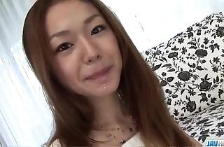 Serina hayakawa dazzling pov oral job not susceptible web camera