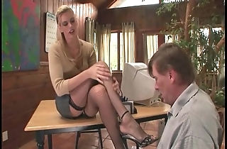 Psychiatrist footsex in the air a the actuality in the air pornographic charm