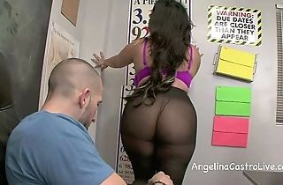 Drenched footjob all over an increment of oral-sex all over respect to salmagundi all over angelina castro!?