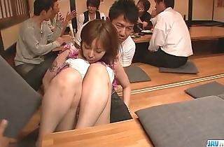 Minami kitagawa foursome uneaten relative to an oriental cum facial