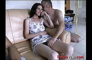 Accepted overwrought surprise, she squirts take along to couch! french unpaid