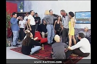 German masterpiece filthy female parent added to young gentleman ball cream party