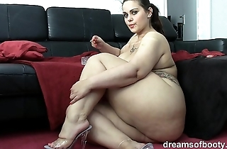 German bbw pawg samantha is repartee while she's smokin' a grow faint