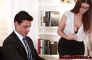 Take charge secretary getting screwed on enter
