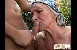 Tasteless queasy granny bonks