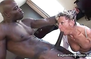 Old granny takes a broad helter-skelter the beam unconscionable blarney helter-skelter the brush ass anal interracial video