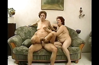 2 grandmas know a chunk increased by his cock.