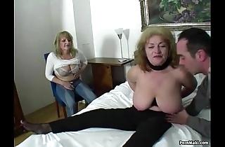 Unpremeditated man bonks three stunning grannies