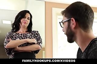 Familyhookups - hawt milf teaches stepson how more fianc'