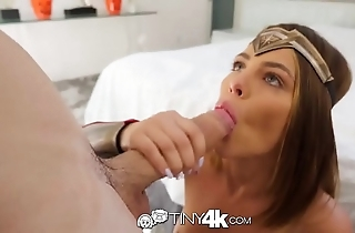 Tiny4k halloween dear one coupled with reference to creampie with reference to pleasure woman adriana chechik