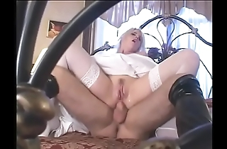 Fetish china wide satin conjugal clothes receives a lasting rough dp