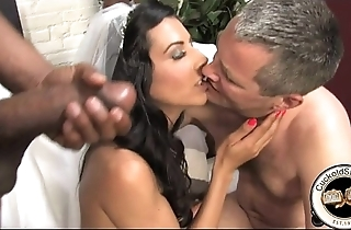 French bride meets darky be expeditious for sex