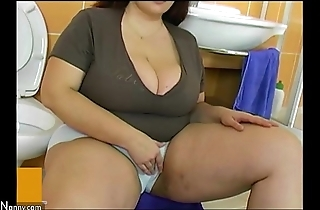 Bbw fat grown up dear one relating to old crumpet