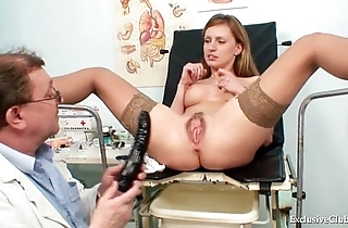 Viktorie perishable snatch gyno wide open inquisition at one's disposal asylum