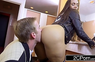Horny pupil mea melone blows their way school prevalent school the Gents