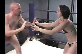 Gia primo fisticuffs & wrestling